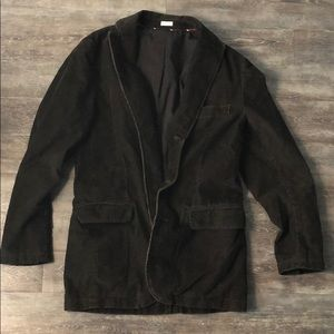 JCrew brown corduroy blazer, small